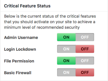 security critical features