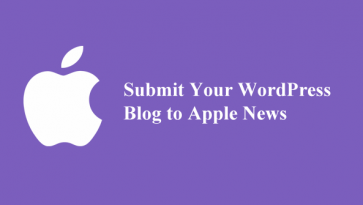 Submit your wordpress blog to apple news