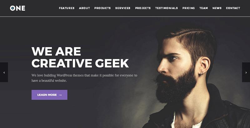 Meridian One Plus WordPress Theme