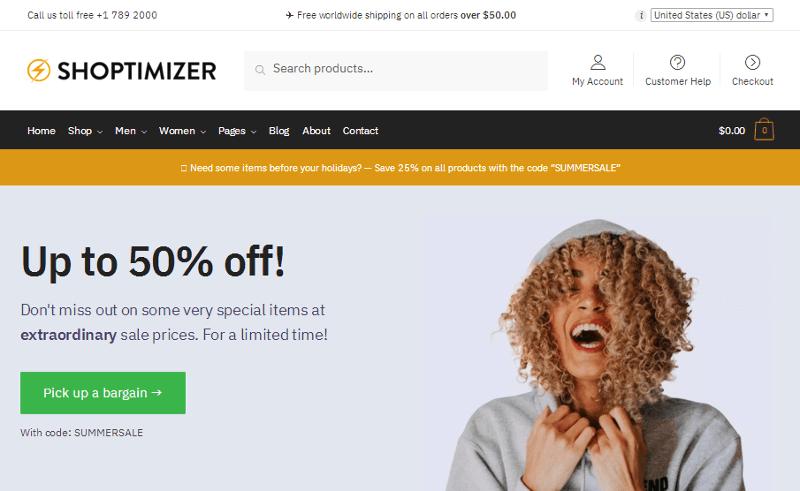 Shoptimizer WordPress Theme