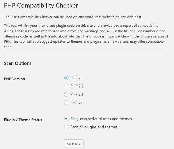 php-compatibility-checker