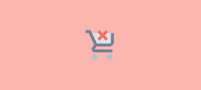 shopping cart abandonment rates