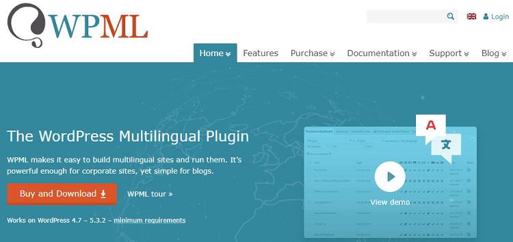 WordPress translation plugins: WPML