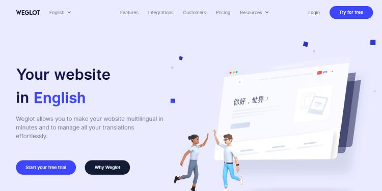 Weglot for WordPress multilingual sites