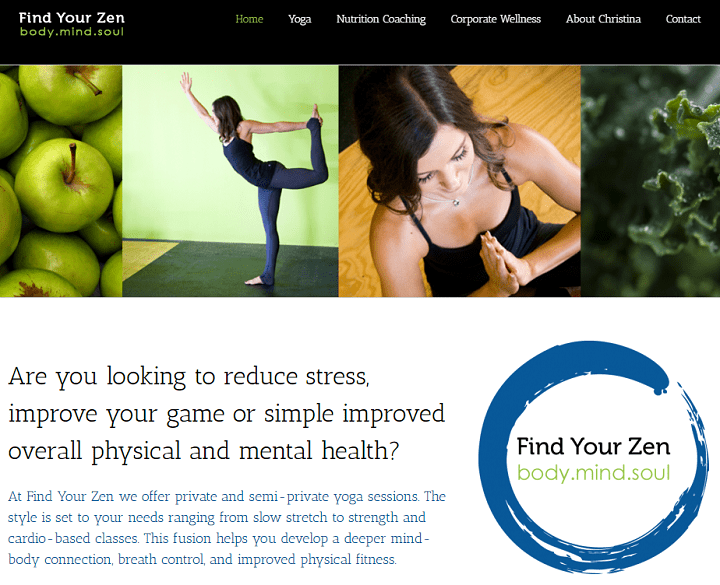 Avada WordPress Theme find your zen