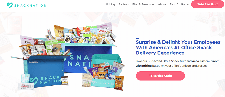 Avada WordPress Theme snack nation