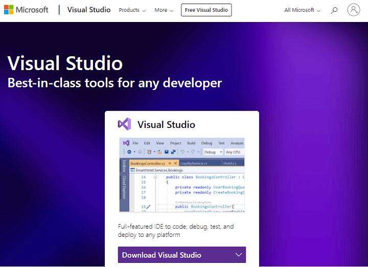 Avada Theme Microsoft Visual studio